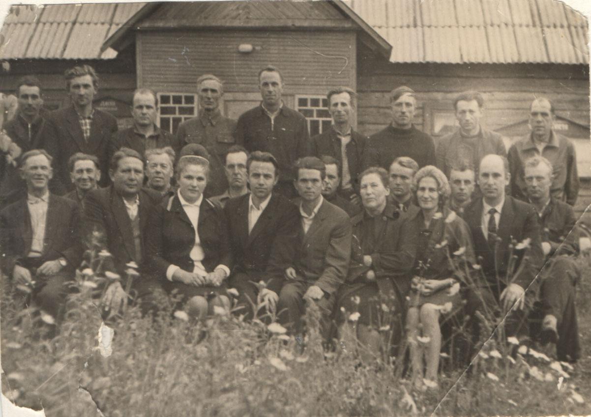 Актив колхоза, 60-е гг.