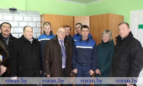 Первый в этом году этап республиканской акции «Наш животновод» 24 января прошел в Вороновском районе