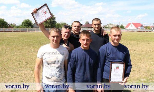 Команда КСУП «Больтишки» — победитель соревнований среди пожарных дружин в Вороново